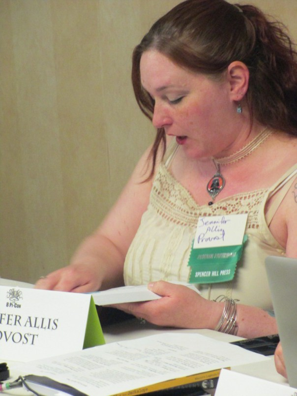 Jennifer Allis Provost Reads From Copper Ravens at 8Pi-Con
