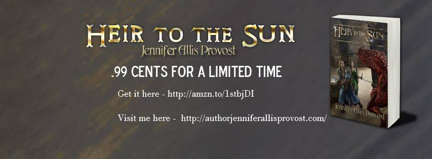 .99 cent Book Sale Alert: Heir To The Sun, Book I of The Chronicles of Parthalan, by Jennifer Allis Provost @Parthalan